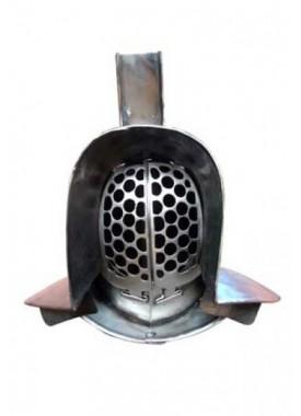 Murmillo Helmet in 1.6 mm Tinned Steel