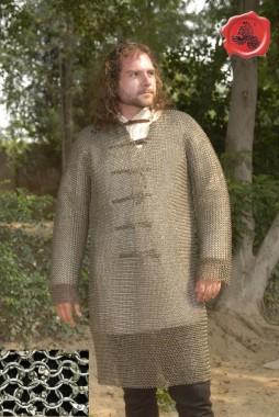 Hauberk- Full Sleeves Chainmail Shirt