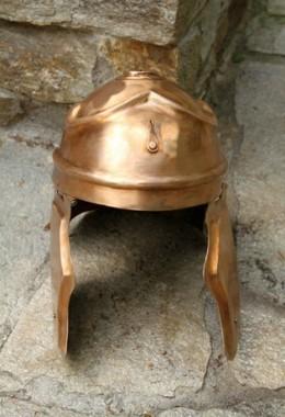 ITALIC A Helmet in 1.6 mm Bronze
