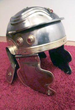 Gallic H Helmet - 1.6 mm Tinned Steel