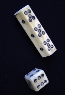 Dice - Made from Bone