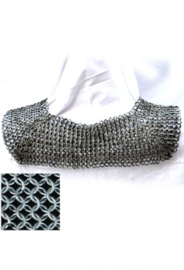 Standard/Chainmail Collar - High Tensile Wire Butted Round Rings