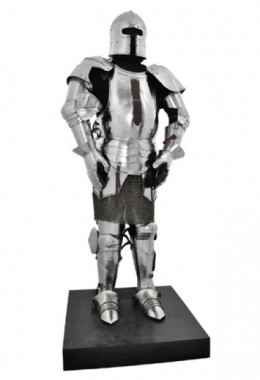 Milanese Armour C. 1450 - 16 G Steel-Fully Articulated and Wearable