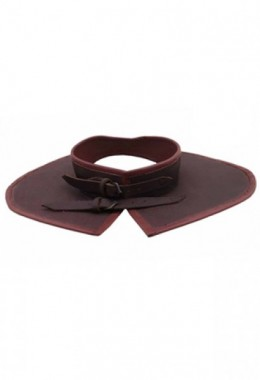 15th Century Leather Gorget
