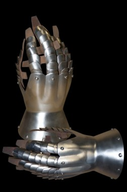 Late 14th century Medieval Gauntlets