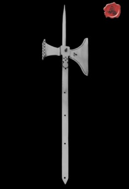 15th Century Pole Axe w/out Wooden Shaft