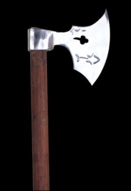 German Battle axe ca. 1420 A.D. - W/out Wooden Shaft