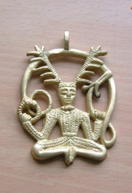 Celtic Pendant of God Cenvunos
