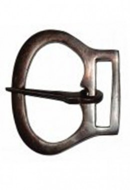 Oval Framade Belt Buckle w/Rect. Mounting loop