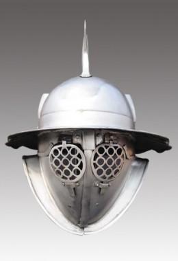 Hoplomachus Helmet in 1.6 mm Tinned Steel