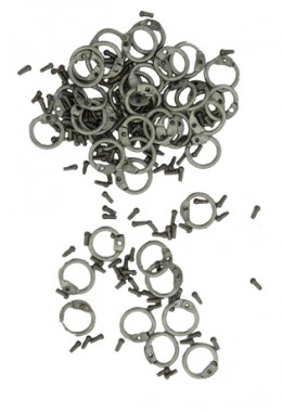 Round Rings with Round Rivets