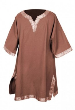 Cotton Shirt - Brown